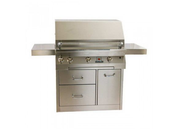 "Solaire 36"" InfraVection Standard Cart Grill"