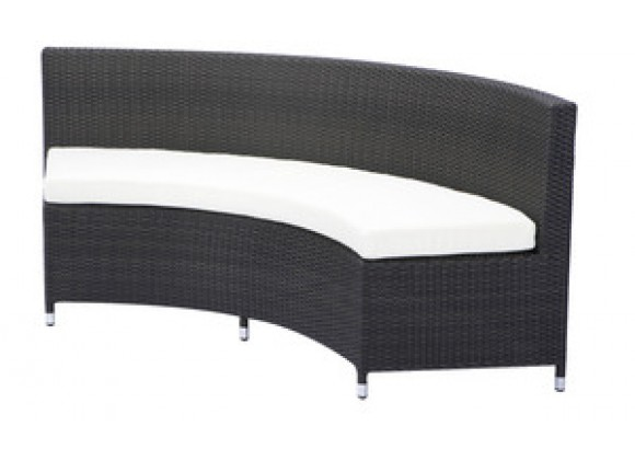 Source Outdoor Circa One-Fourth Round Bench