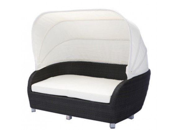 Source Outdoor St. Tropez Day Bed with Canopy