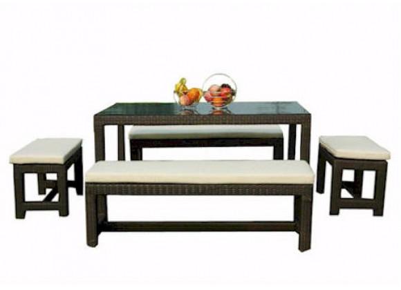 Anderson Teak Sorrento Dining Table Set