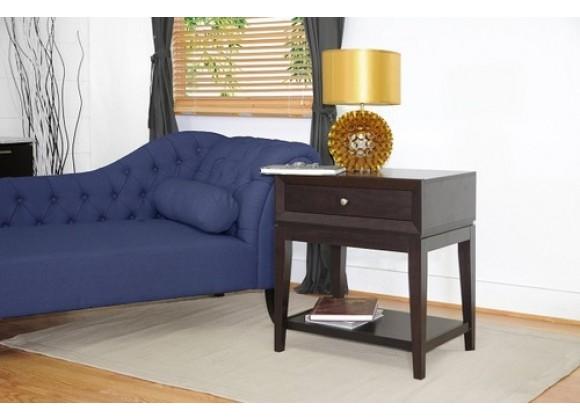 Baxton Studio Morgan Modern Accent Table & Nightstand