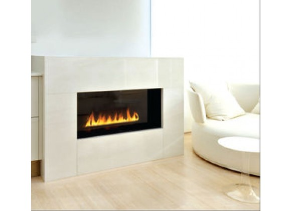Spark Modern Fires - Fire Ribbon Direct Vent 3 ft  WIth Mandatory Safety Screen