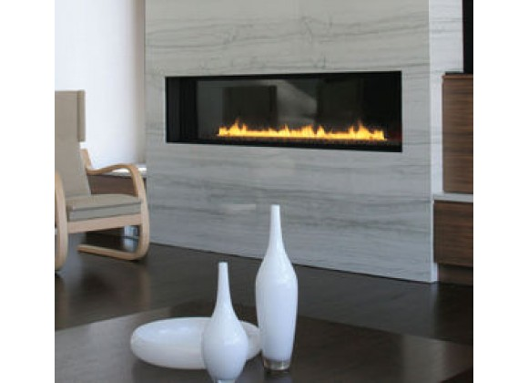 Spark Modern Fires - Fire Ribbon Direct Vent 6 ft  WIth Mandatory Safety Screen