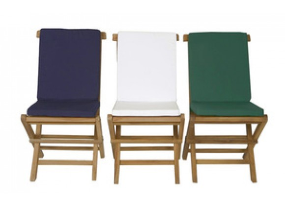 All Things Cedar Folding Chair Cushion (Set of 2)