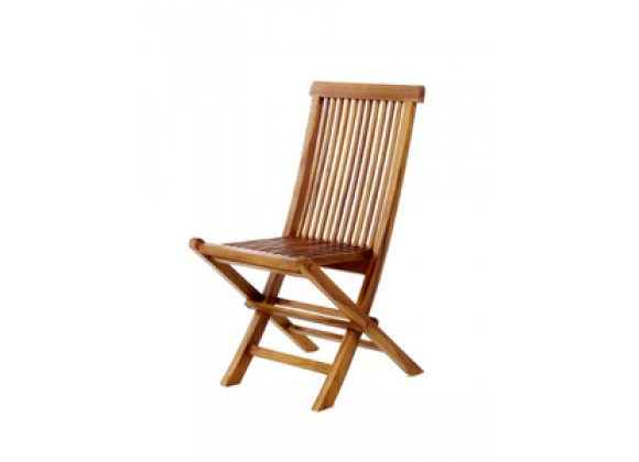 Java Teak Dining Folding Chair