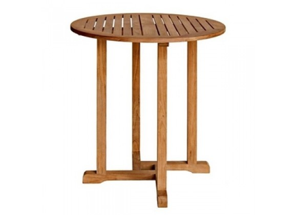 Oxford Solid Teak Round Bar Table 36""