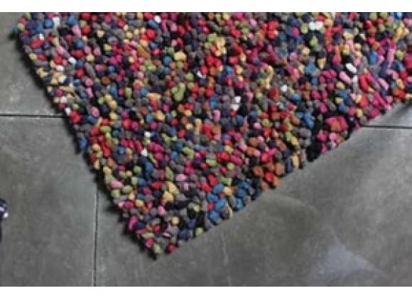 TrueModern Lil Wooly Rug- Multi Color