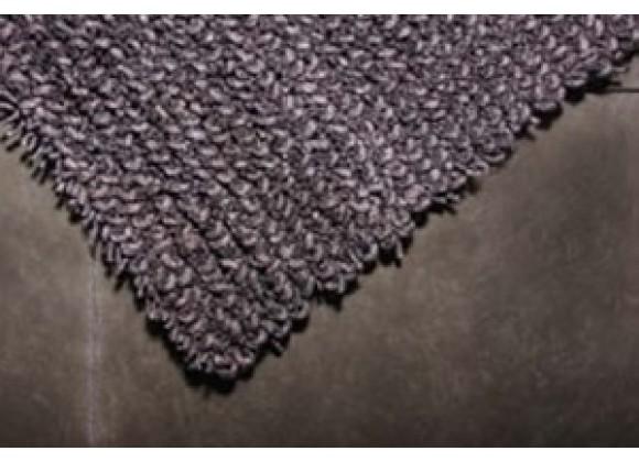 TrueModern Maca Rug- Charcoal