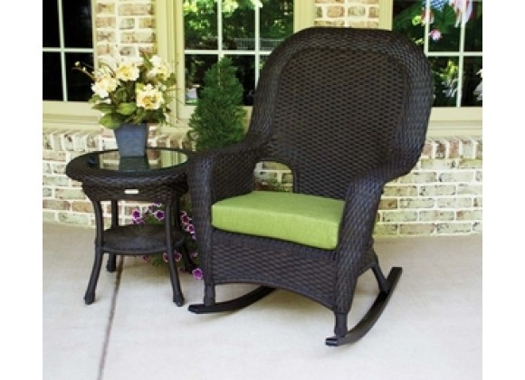 Tortuga Outdoor Sea Pines Rocker and Side Table Bundle