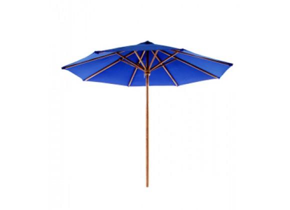 Teak Furniture Umbrella - Blue