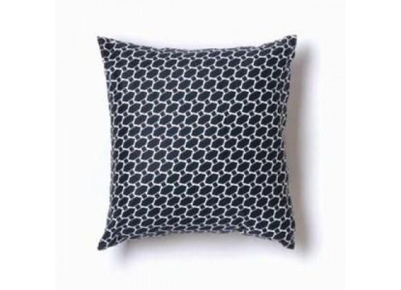 Twinkle Living Lego Throw Pillow in Navy/ White