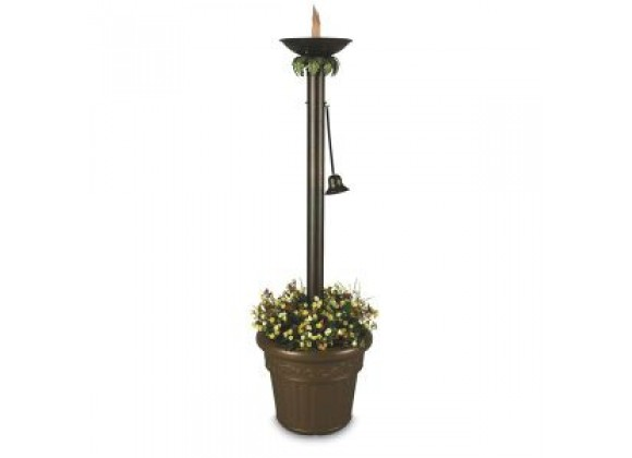 "Patio Concepts Vesta 72"" Citronella Flame Planter Lantern"