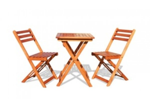 Vifah Modern Patio Folding Bistro Set