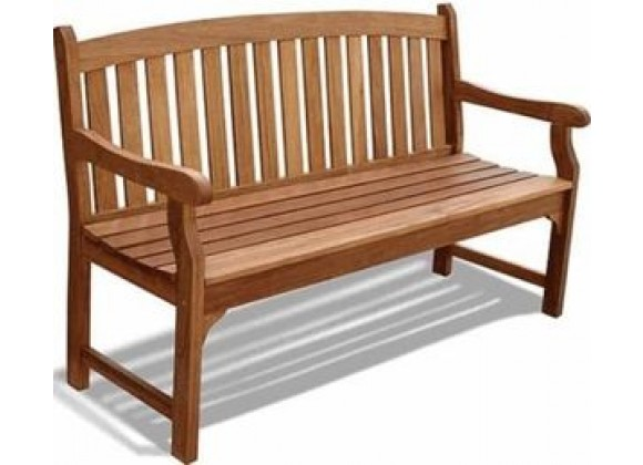 Vifah Modern Patio Outdoor Wood Bench