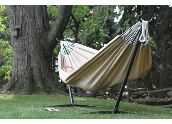 Vivere Brazilian Sunbrella Hammock - Double (Sand)