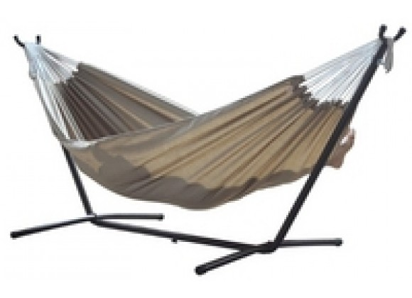 Vivere's Combo - Sunbrella Sand Hammock with Stand (9ft)