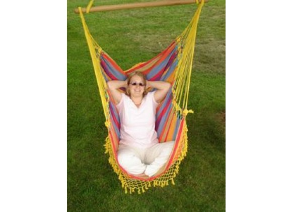 Vivere Brazilian Style Hammock Chair in Paradise