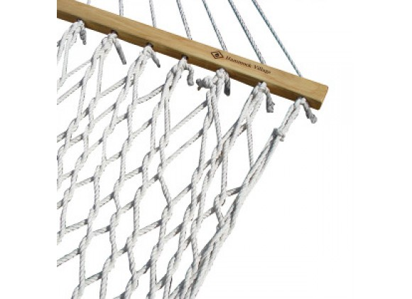 Vivere Cotton Rope Hammock - Double in Natural Rope