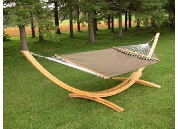 Vivere Poolside Hammock - Double in Sienna Fabric