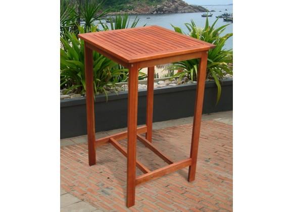 Vifah Modern Patio Dartmoor Bar Table