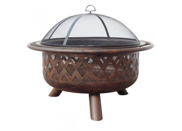 Fireside America Firebowl Criss-Cross Design