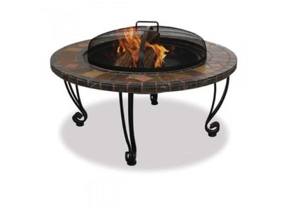 Fireside America Slate Top Firebowl