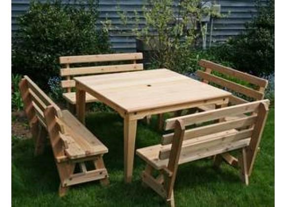 Creekvine Designs Cedar Union Dining Set