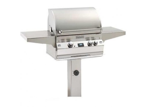Fire Magic Aurora In-Ground Post Stainless Steel Gas Grill