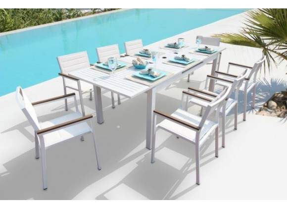Avallon 9 Pc Dining Set