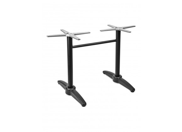 Cast Weighted Aluminum Table Stand - AL-1805DP - Black