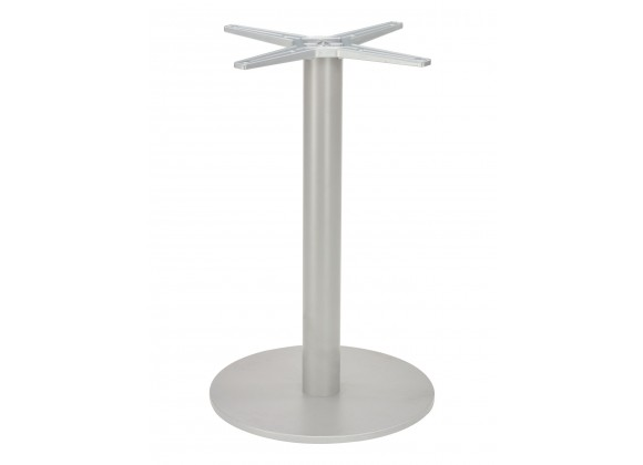 Cast Weighted Aluminum Table Stand - AL-2400 18×3 - Silver