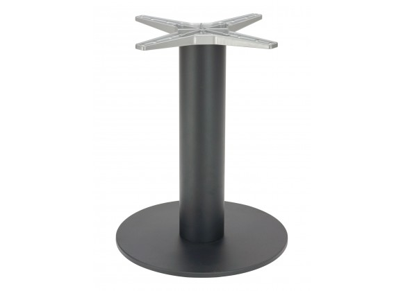 Cast Weighted Aluminum Table Stand - AL-2400 23×6 - Black