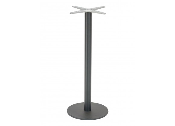 Cast Weighted Aluminum Table Stand - AL-2400BH 18×3 - Black