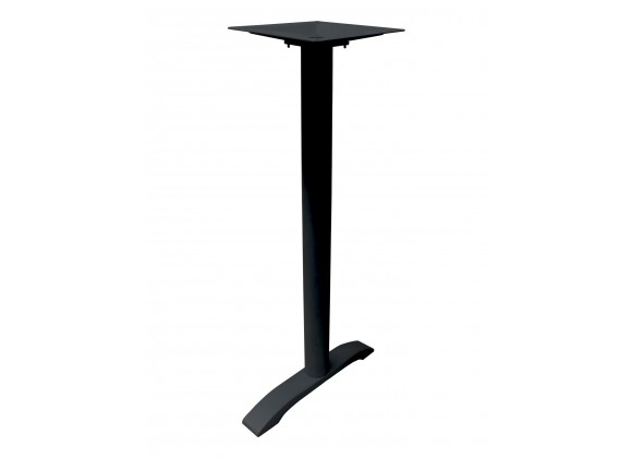 Aluminum Table Stand - AL-2900 UMB T-BASE BH - Black