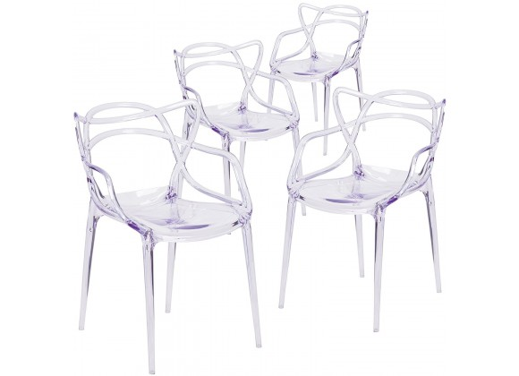 Aron Living Monte Chair Clear