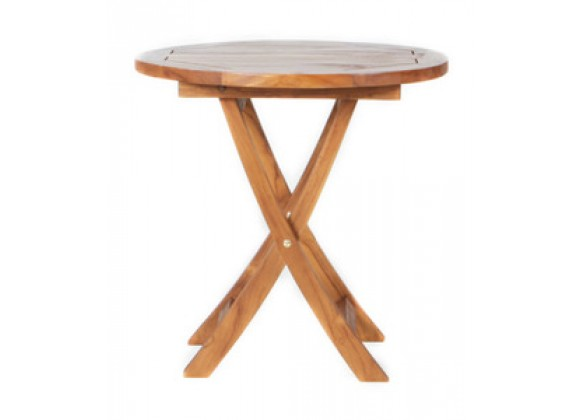 All Things Cedar  Teak Outdoor End Table