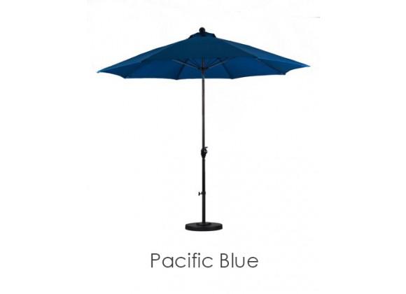 California Umbrella 9' WR Fiber Market Umbrella PT Bronze - Polyester