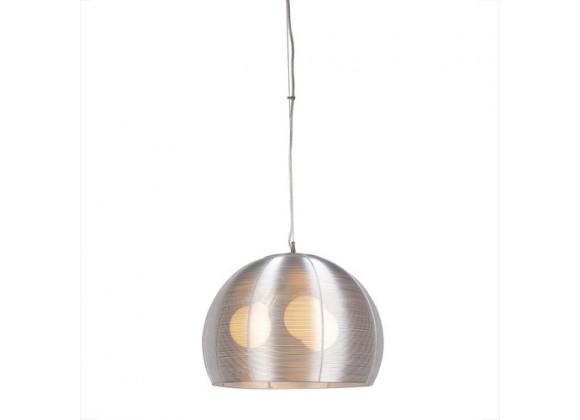 Bromi Lenox 3 Light Round Modern Silver Pendant