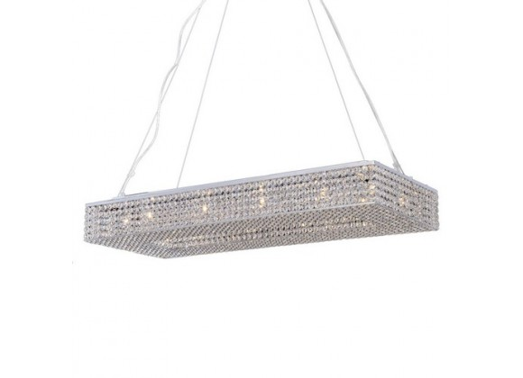 Bromi Illusion 12 Light Crystals Chandelier