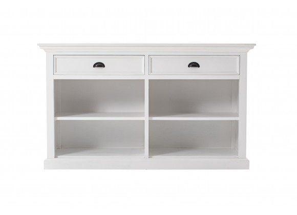 Nova Solo Buffet with 2 Drawers - Front with White Background
