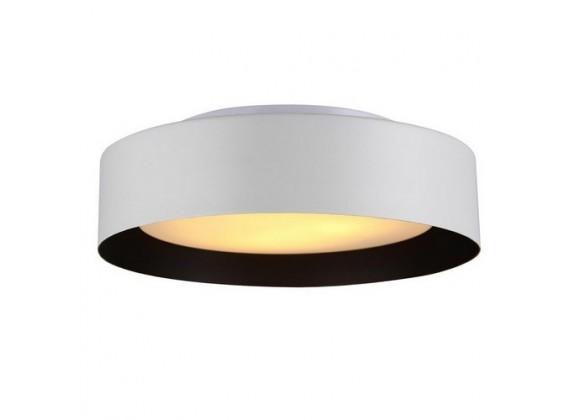 Bromi Lynch White & Black Flush Mount Ceiling Light