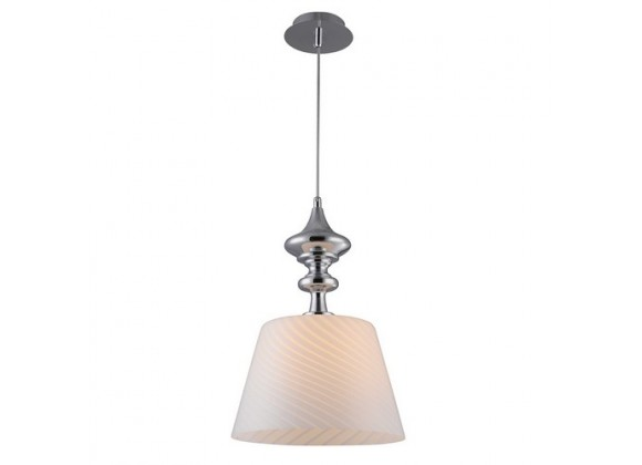 Bromi Martell White Glass Lighting Pendant