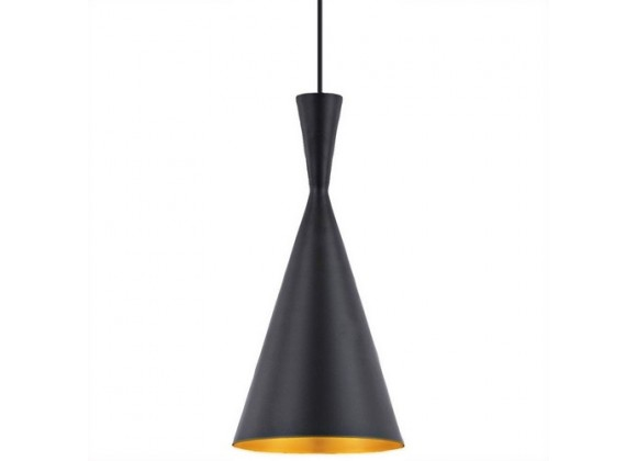 Bromi Berkley Black Single Light Pendant