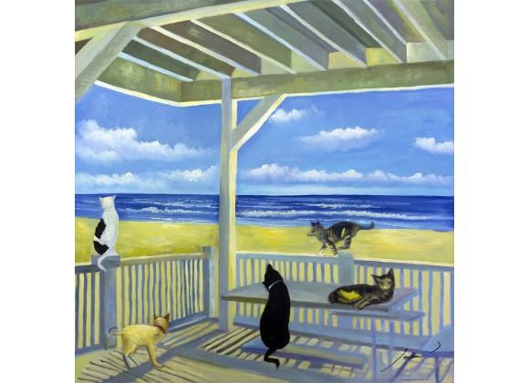 Ocean Cats Wall Art