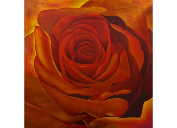 The Rose Wall Art
