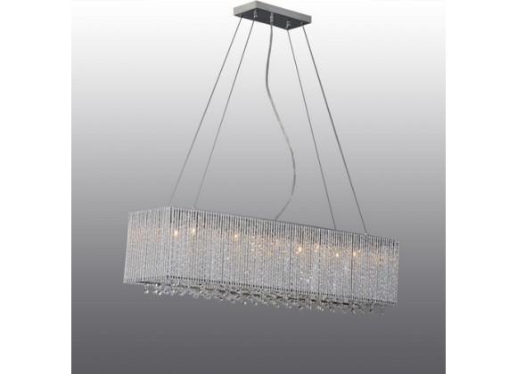 Bromi Crystalline Modern 10 Lights Crystals Chandelier