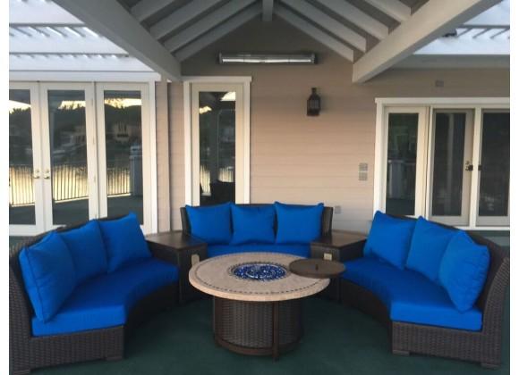 Bermuda 6-Piece Circular Sofa Set