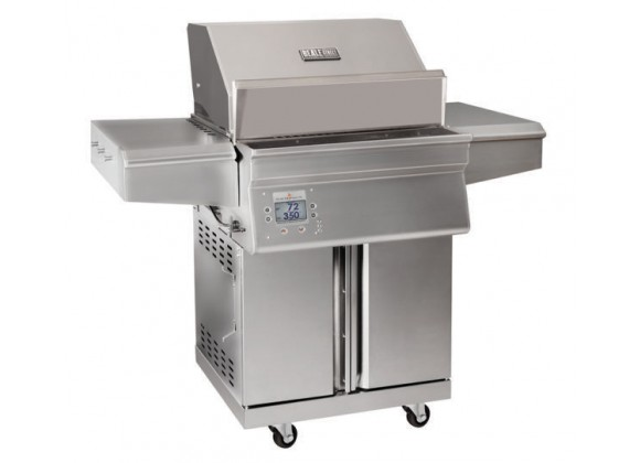 Memphis Grills Beale Street Cart With WiFi - 430 SS Alloy - Angled