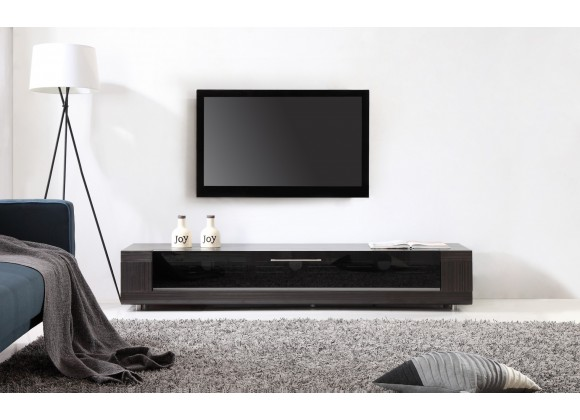Editor Remix TV Stand - Ebony Veneer