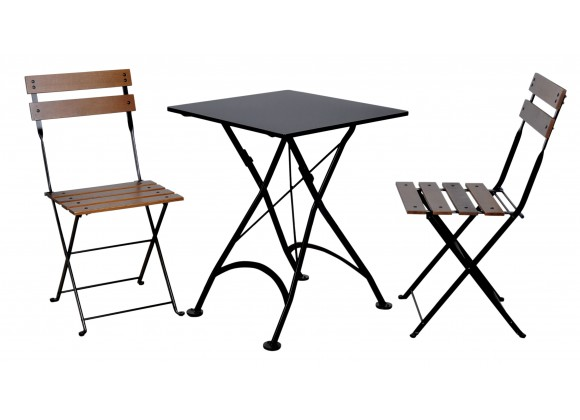 French Café Bistro Dining Set - 3 Pieces